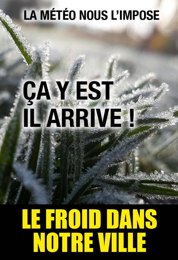 Campagne choc contre l'arrivée du froid à Béziers