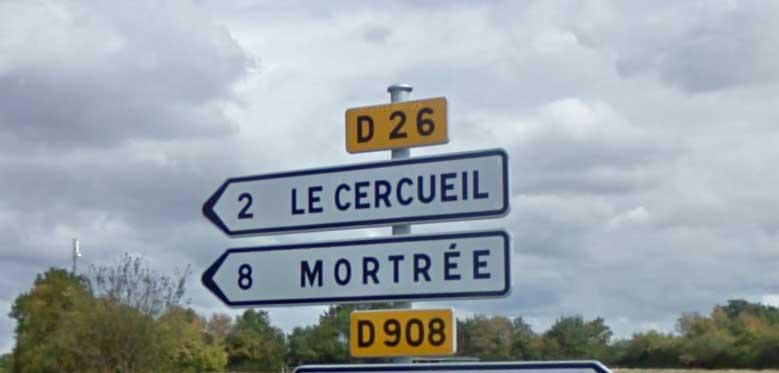 Le Cercueil, Orne - image Google Street View