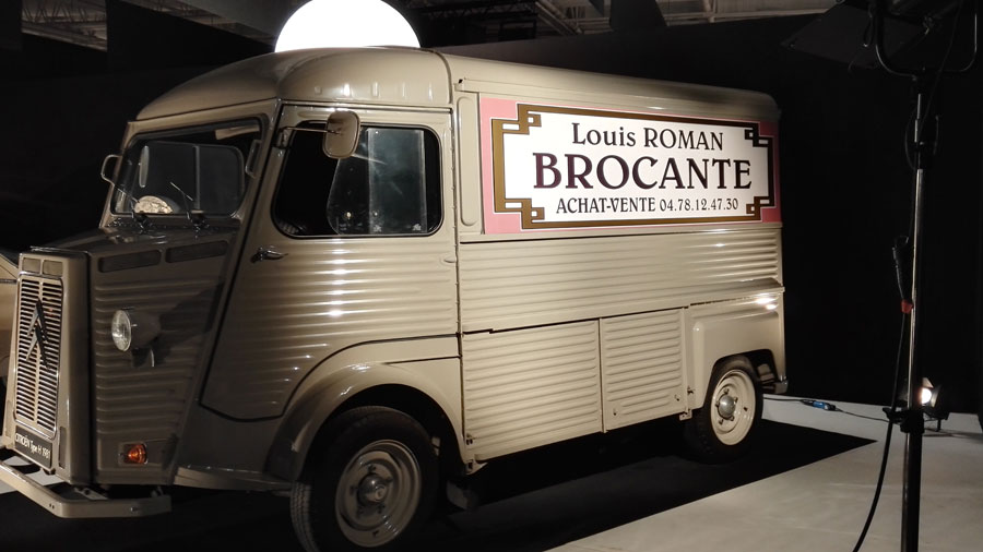Camion de Louis la Brocante (Hall 8)
