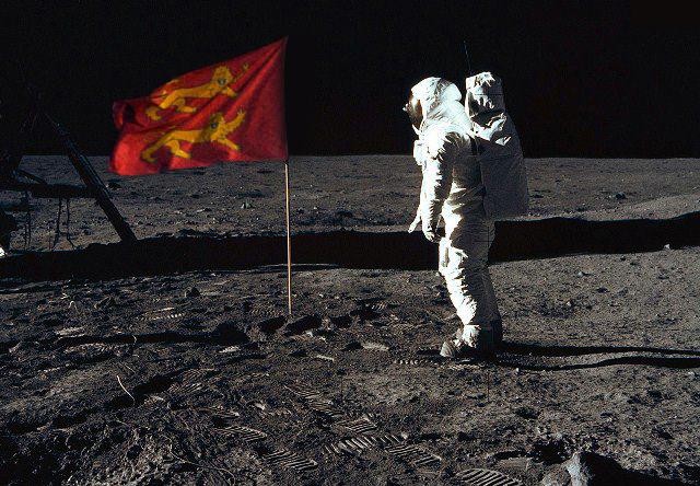 Des normands sur la lune !