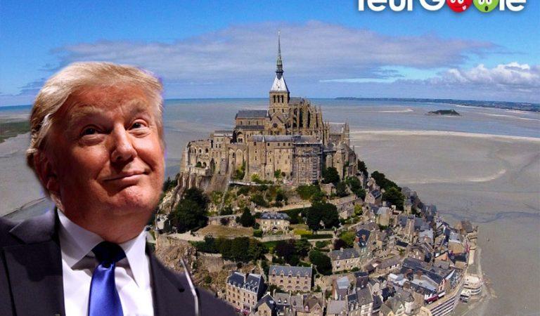 Bretons VS Normands : Trump envisage d'acheter le Mont-Saint-Michel pour apaiser les tensions