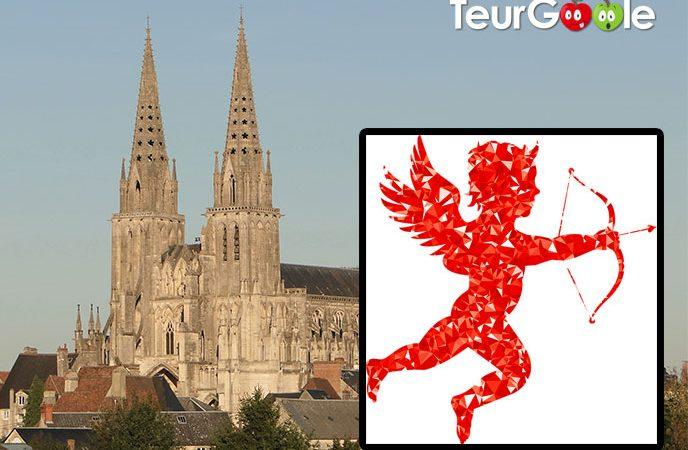 Saint-Valentin : Drame à Sées (61) Cupidon percute la cathédrale.