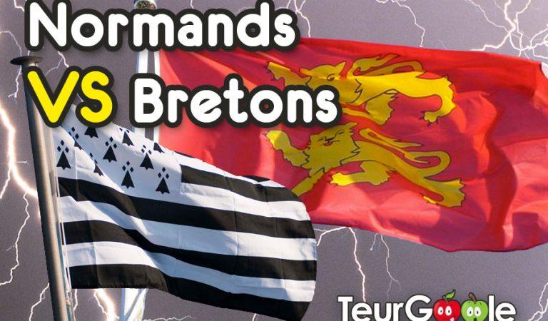 Normands VS Bretons : 10 raisons pour lesquelles la Normandie est number one !