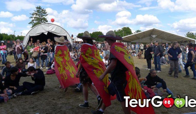 Il sort un drapeau normand dans un festival Breton…