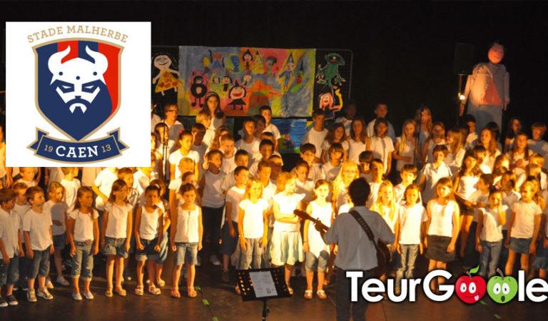 Éducation. L'hymne du Stade Malherbe pour le plan chorale