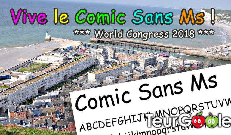 Congrès des fans de la Comic Sans Ms au Tréport cet automne