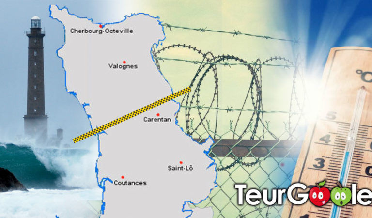 Canicule. Le mur contre les réfugiés climatiques inauguré dans le Cotentin.