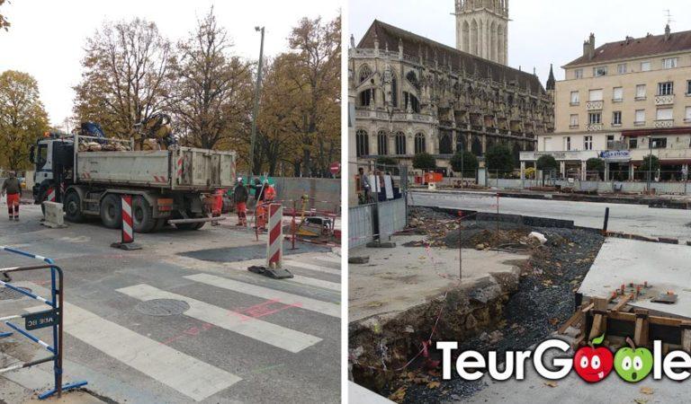 Caen. Statistiques : 72% des rues en travaux