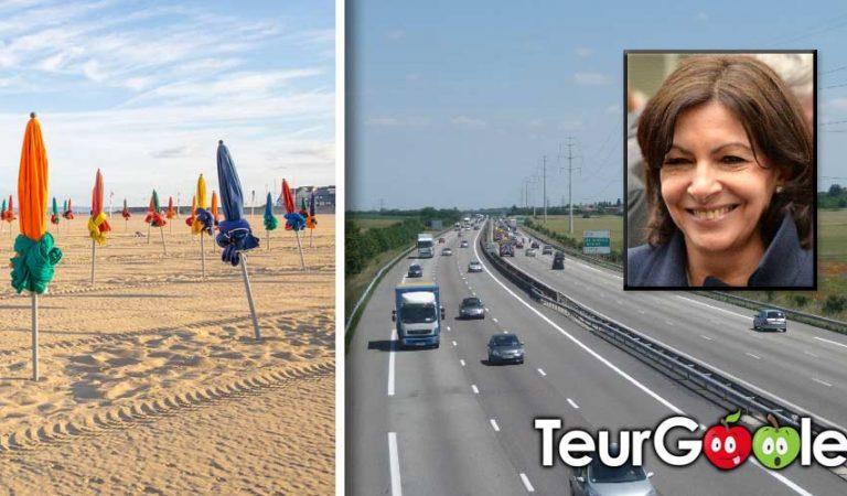 Annie Hidalgo souhaite piétonniser l'A13 vers Deauville