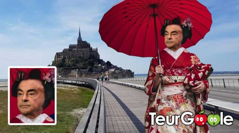 Carlos Ghosn Mont Saint Michel