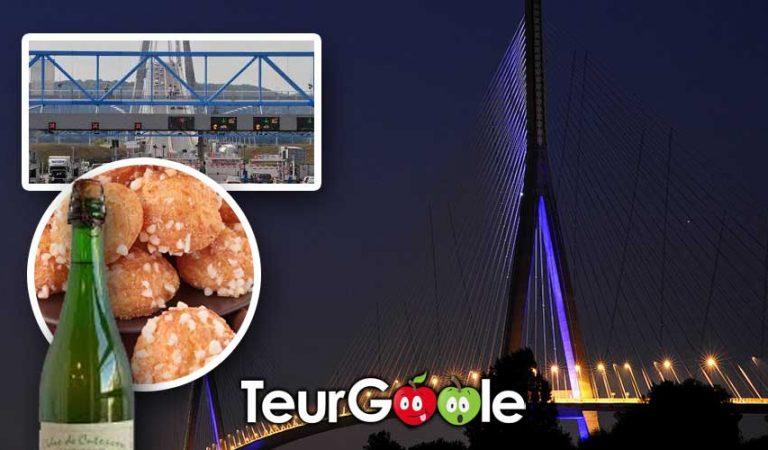 Les tarifs du Pont de Normandie augmentent pour payer les chouquettes et le cidre de son anniversaire.