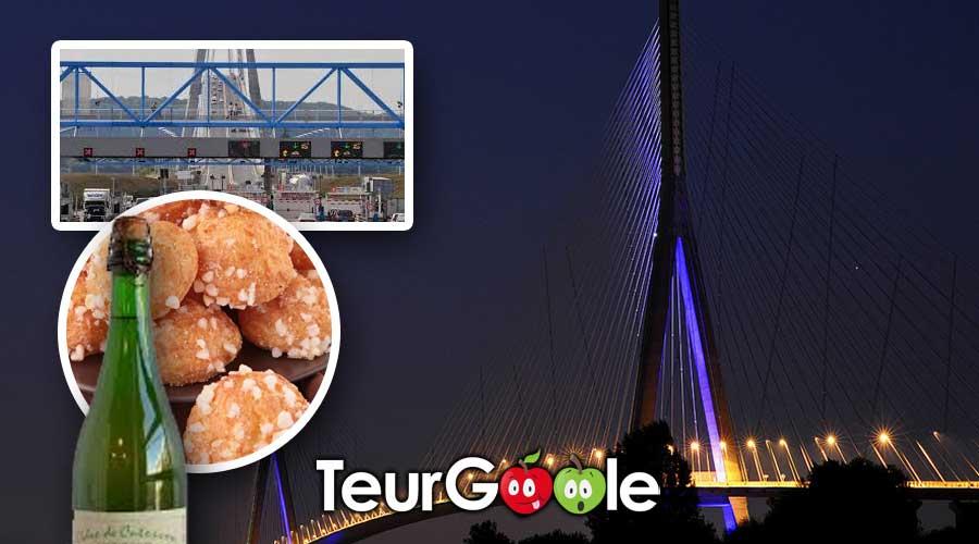 Pont de Normandie - péage