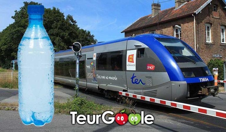 SNCF. Le plan d'actions prévoit une bouteille de 1,5L au lieu de 50Cl pour les lignes normandes
