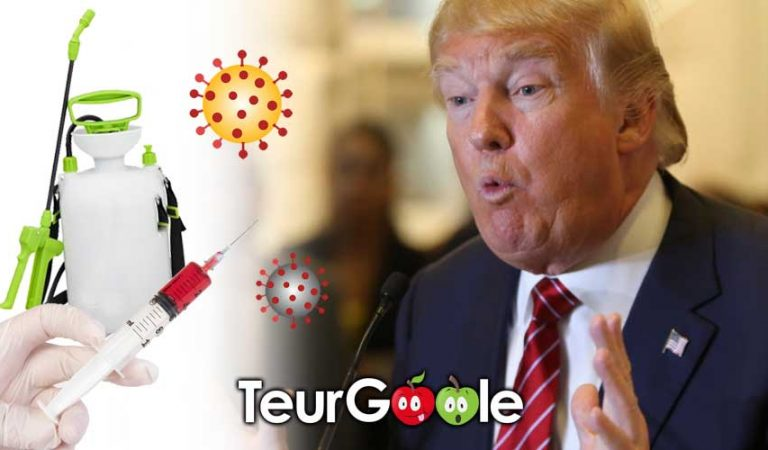 Covid-19 : Trump propose une injection de Round-Up
