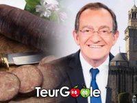 Jean Pierre Pernault, andouille de Vire