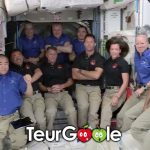 Thomas Pesquet dans la station spatiale internationale